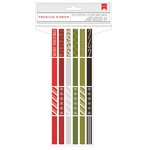 American Crafts - Christmas - Ribbon Value Pack - Deck The Halls - 24 Spools