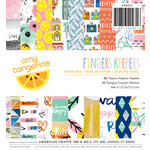 American Crafts - Amy Tangerine Collection - Finders Keepers - 6 x 6 Paper Pad