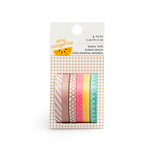 American Crafts - Amy Tangerine Collection - Finders Keepers - Mini Washi Tape Roll