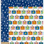 American Crafts - Amy Tangerine Collection - Finders Keepers - 12 x 12 Double Sided Paper - Explore