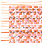 American Crafts - Amy Tangerine Collection - Finders Keepers - 12 x 12 Double Sided Paper - Token
