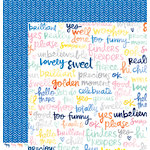 American Crafts - Amy Tangerine Collection - Finders Keepers - 12 x 12 Double Sided Paper - Treasure