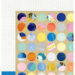 American Crafts - Amy Tangerine Collection - Finders Keepers - 12 x 12 Double Sided Paper - Magnify