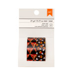 American Crafts - Halloween Collection - Washi Tape - Orange Diamond and Candy Corn