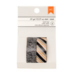 American Crafts - Halloween Collection - Washi Tape - Bats and Black-Orange Stripe