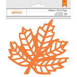American Crafts - Halloween Collection - Die Cut Leaf