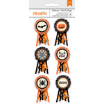 American Crafts - Halloween Collection - 3 Dimensional Stickers