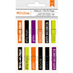 American Crafts - Halloween Collection - Clothespins - Trick Or Treat