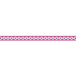 American Crafts - Grosgrain Ribbon - 0.375 Inch - Pink Southwestern - 4 Yards