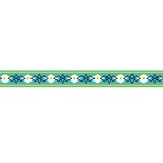 American Crafts - Grosgrain Ribbon - 0.625 Inch - Diamonds - 4 Yards