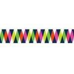 American Crafts - Grosgrain Ribbon - 1.5 Inch - Zig Zag - 3 Yards