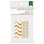 American Crafts - Christmas - Washi Tape - Gold Chevron