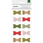 American Crafts - Christmas - Holiday Ribbon Bows
