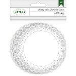 American Crafts - Christmas - Doilies - White