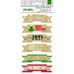 American Crafts - Christmas - Layered Stickers - Let it Snow