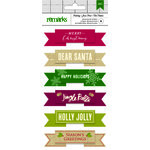 American Crafts - Christmas - Layered Stickers - Merry Christmas