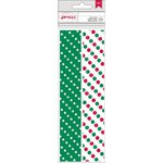 American Crafts - Christmas - Paper Straws - Star and Dot