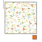 American Crafts - Double-Sided Paper - A la Carte Collection - Bisque, CLEARANCE