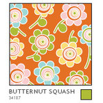 American Crafts - Double-Sided Paper - A la Carte Collection - Butternut Squash, CLEARANCE