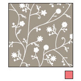 American Crafts - Double-Sided Paper - A la Carte Collection - Earl Grey