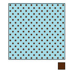 American Crafts - Double-Sided Paper - A la Mode Collection - Cream Puff, CLEARANCE