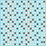 American Crafts - 12x12 Paper - Baby Collection - Hansel, CLEARANCE