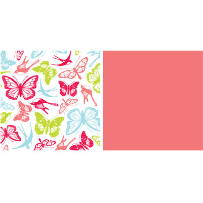 American Crafts - Spring and Summer Collection - 12x12 Double Sided Paper - High Tea
