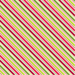 American Crafts - Christmas Collection - 12x12 Paper - Better Not Pout, CLEARANCE