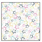 American Crafts - Teen Collection - 12 x 12 Double Sided Glitter Paper - Drama Club, CLEARANCE