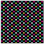 American Crafts - Teen Collection - 12 x 12 Double Sided Glitter Paper - Pep Rally