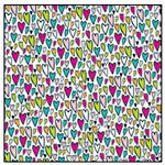 American Crafts - Teen Collection - 12 x 12 Double Sided Glitter Paper - Sadie Hawkins, CLEARANCE