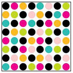 American Crafts - Teen Collection - 12 x 12 Double Sided Paper - Class Clown, CLEARANCE