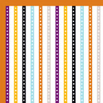 American Crafts - Halloween Collection - 12 x 12 Double Sided Paper - Friday The 13th, CLEARANCE