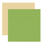 American Crafts - Merrymint Collection - Christmas - 12 x 12 Double Sided Paper - Wintergreen, CLEARANCE