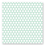 American Crafts - Dear Lizzy Spring Collection - 12 x 12 Fabric Paper - Firefly Festival, CLEARANCE
