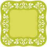 American Crafts - Dear Lizzy Enchanted Collection - 12 x 12 Lace Paper - Cheerful Oliver, CLEARANCE
