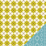 American Crafts - Campy Trails Collection - 12 x 12 Double Sided Paper - Caribou Creek