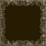 American Crafts - Nightfall Collection - Halloween - 12 x 12 Chalkboard Paper - Good Night