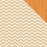 American Crafts - Amy Tangerine Collection - 12 x 12 Double Sided Paper - Here and There