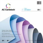 American Crafts - 12 x 12 Cardstock Pack - 48 Sheets - Winter