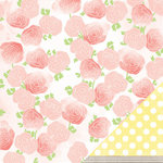 American Crafts - Dear Lizzy Neapolitan Collection - 12 x 12 Double Sided Paper - Fresh Blooms
