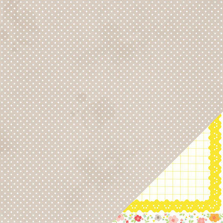 American Crafts - Dear Lizzy Neapolitan Collection - 12 x 12 Double Sided Paper - Sea Breeze