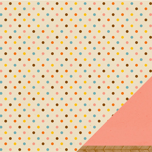 American Crafts - Amy Tangerine Collection - Ready Set Go - 12 x 12 Double Sided Paper - Good Morning