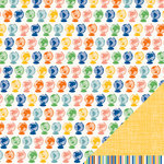 American Crafts - Amy Tangerine Collection - Ready Set Go - 12 x 12 Double Sided Paper - Globetrotter
