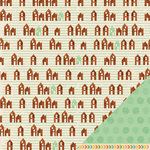 American Crafts - Amy Tangerine Collection - Ready Set Go - 12 x 12 Double Sided Paper - Get Cozy
