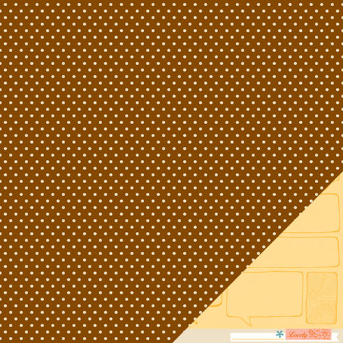 American Crafts - Amy Tangerine Collection - Ready Set Go - 12 x 12 Double Sided Paper - Conference Call