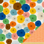 American Crafts - Amy Tangerine Collection - Ready Set Go - 12 x 12 Double Sided Paper - Rise n' Shine