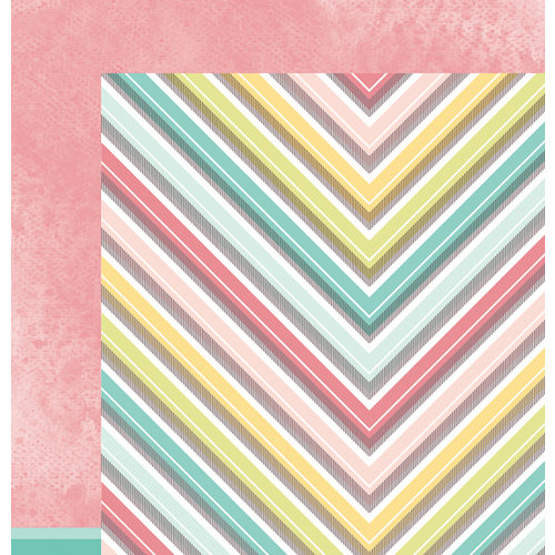 American Crafts - Dear Lizzy 5th and Frolic Collection - 12 x 12 Double Sided Paper - Foxy Fairview
