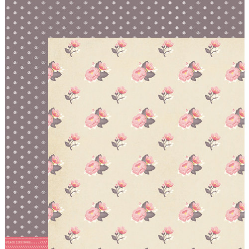 American Crafts - Dear Lizzy 5th and Frolic Collection - 12 x 12 Double Sided Paper - Lark Lane
