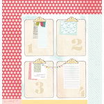 American Crafts - Dear Lizzy 5th and Frolic Collection - 12 x 12 Double Sided Paper - 2nd and Oak